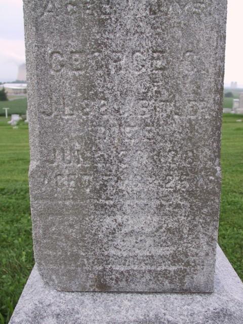 he died on 30 jun 1881 in