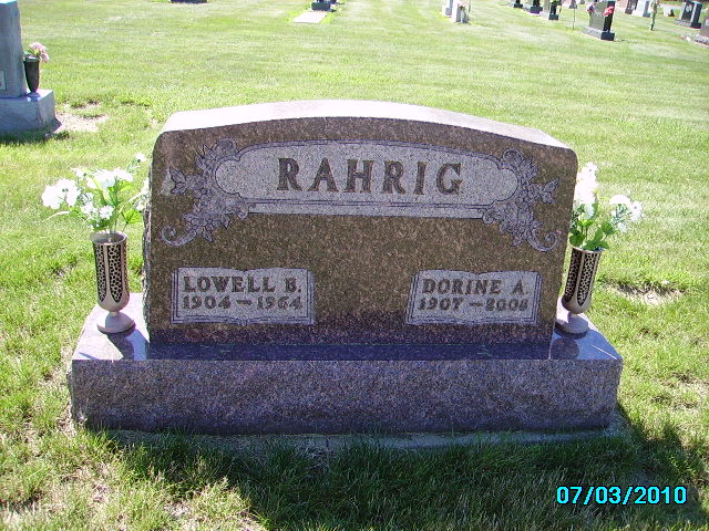 son of alfred j rahrig and